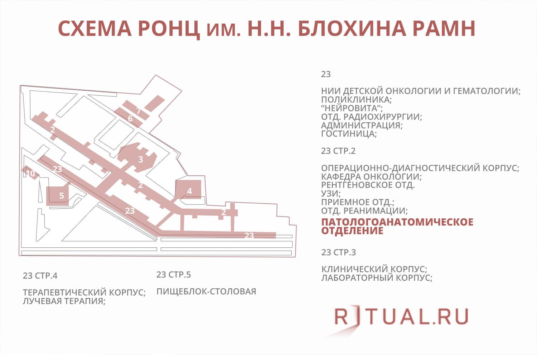 0e56b1dc9c8c Морг онкологического центра им. Н.Н.Блохина в Москве